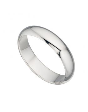Plain Silver Ring Band